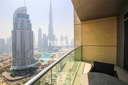 فلیٹ 2 غرفة نوم للبيع في وسط مدينة دبي، دبي - Exclusive Vacant 2BR | Burj View