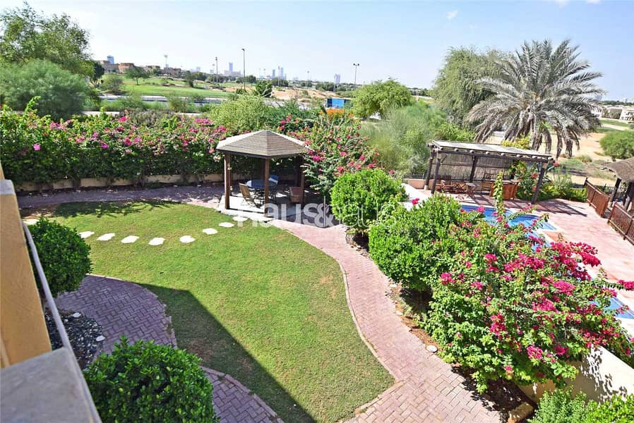 Golf course views   5 bed Type 11   Quiet location