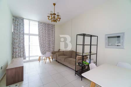 1 Bedroom Apartment for Rent in Dubai Studio City, Dubai - Beautiful Garden facing apt. | Fully Fitted Kitchen