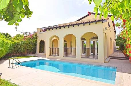 فیلا 5 غرف نوم للبيع في عقارات جميرا للجولف، دبي - Impeccable Largest Villa | Sienna Lakes