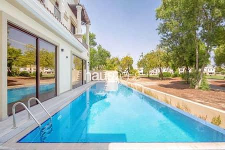 5 Bedroom Villa for Sale in Jumeirah Golf Estates, Dubai - Custom Built 5BR | Open Plan| Smart home