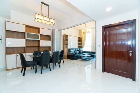 1 Bedroom Apartment for Rent in Al Furjan, Dubai - NEW 1BHK | CONVERTIBLE INTO 2 | FULLY FURNISHED