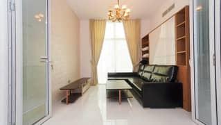 شقة في غلامز من دانوب الفرجان 2 غرف 70000 درهم - 5007370