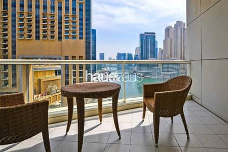 2 Bedroom Apartment for Rent in Dubai Marina, Dubai - Chiller Free | 3 Large Terraces | Marina views