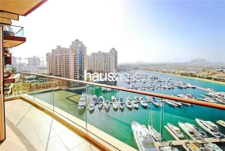 فلیٹ 2 غرفة نوم للبيع في نخلة جميرا، دبي - High Floor with Breathtaking Atlantis View