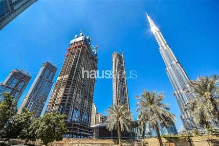 4 Bedroom Apartment for Sale in Downtown Dubai, Dubai - 70th Floor | Burj and Sea Views | 3yr Payment Plan