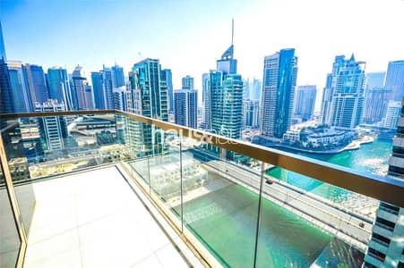 فلیٹ 2 غرفة نوم للبيع في دبي مارينا، دبي - Full Marina View   Balcony   Mid floor