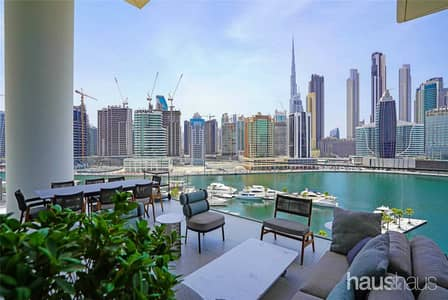 4 Bedroom Penthouse for Sale in Business Bay, Dubai - Luxury Waterfront Residences | VR Tour | 4 Bed