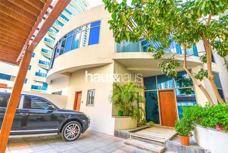 4 Bedroom Villa for Sale in Dubai Marina, Dubai - Private Pool | VOT | Full Marina View