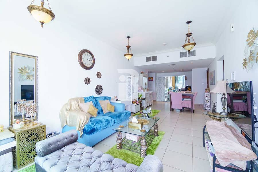 BRIGHT LAYOUT | LARGE AREA| SPACIOUS BALCONY