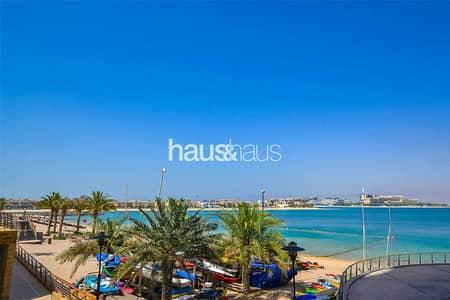 شقة 1 غرفة نوم للبيع في نخلة جميرا، دبي - Rare Layout with 2 Balconies on the Beach