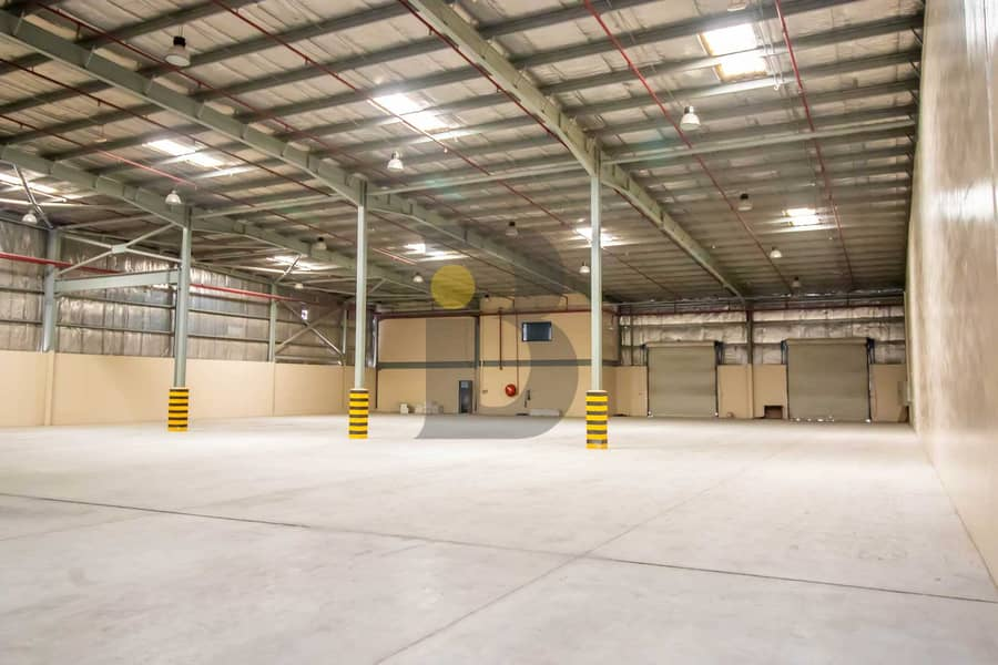 14 400kW Power Warehouse in JAFZA