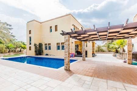 فیلا 3 غرف نوم للايجار في جميرا بارك، دبي - Exclusive- Corner - Private Pool- Vacant August