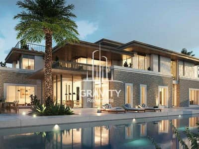 4 Bedroom Villa for Sale in Al Jurf, Abu Dhabi - Immense Semi-Detached Luxury Type Villa W/ Private Beach Access