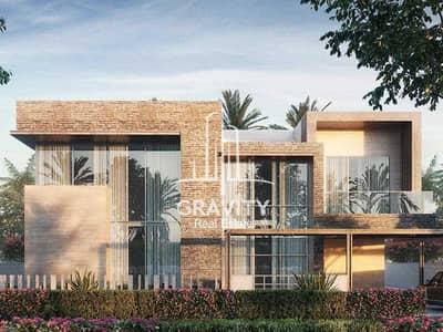 4 Bedroom Villa for Sale in Saadiyat Island, Abu Dhabi - Premium Villa W/ Private Beach Access | Inquire Now