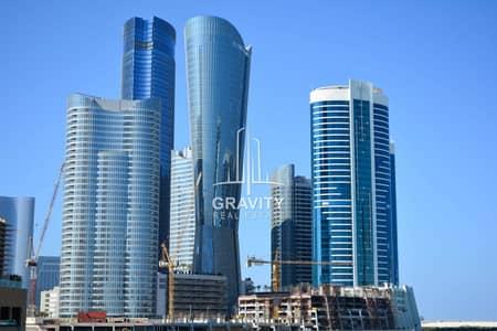 Studio for Sale in Al Reem Island, Abu Dhabi - Fully Furnished Apt in Dazzling Tower