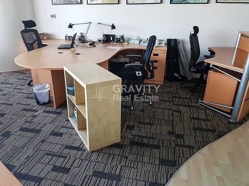 Spacious Fitted Office W/ Furniture   Inquire Now