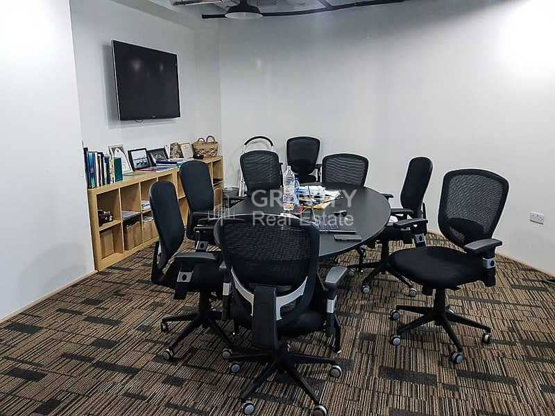 2 Spacious Fitted Office W/ Furniture   Inquire Now