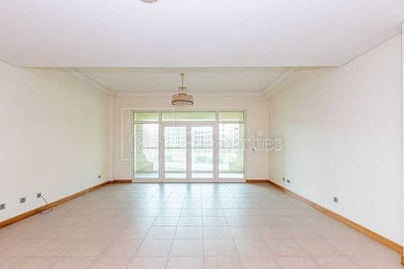 فلیٹ 1 غرفة نوم للبيع في نخلة جميرا، دبي - 1 BDR   Park View    Mid Floor   Quite & Bright