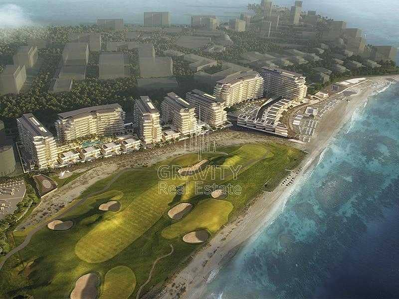 Premium Beach Front + Golf View Residential Plot
