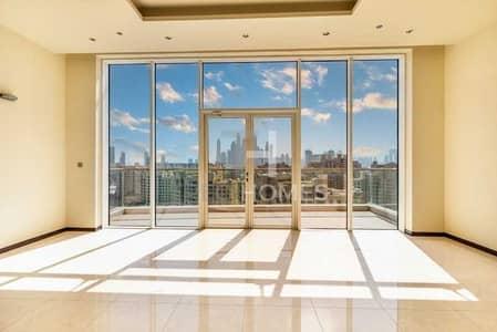 شقة 2 غرفة نوم للايجار في نخلة جميرا، دبي - Tiara Amber|High Floor|Offers Invited