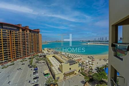 2 Bedroom Apartment for Rent in Palm Jumeirah, Dubai - Beach & Sea Views | Furnished | High Floor