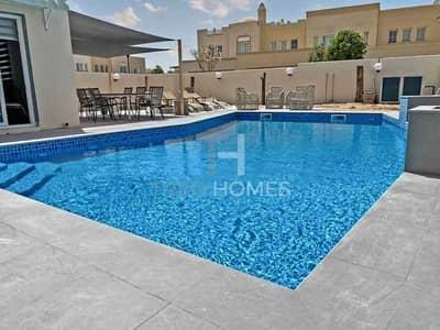 فیلا 3 غرف نوم للايجار في الينابيع، دبي - Fully Upgraded I Pool I Furnished I Luxury