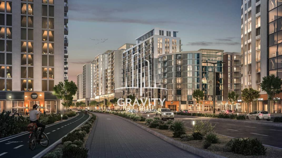 7 Invest to your dream home 1BR in Al Ghadeer II