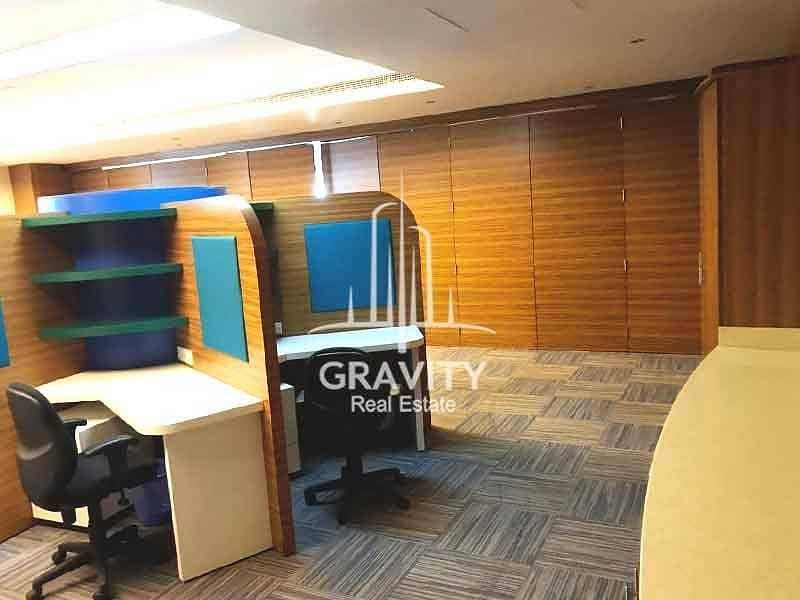 2 HOT DEAL! Excellent layout Fitted Office in Al Reem