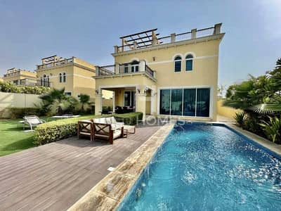 4 Bedroom Villa for Sale in Jumeirah Park, Dubai - Vacant On Transfer | Single Row | Swimming Pool