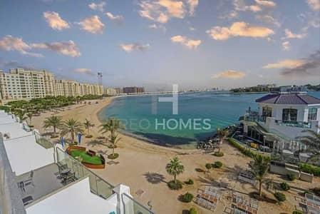 فلیٹ 1 غرفة نوم للايجار في نخلة جميرا، دبي - Pool & City View  Choice of 2 Lower Floor