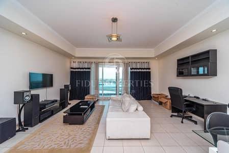 شقة 1 غرفة نوم للايجار في الخليج التجاري، دبي - Low Floor | Furnished | Godolphin Stables View