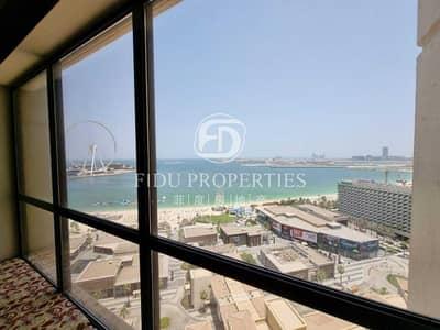 شقة 3 غرف نوم للايجار في جميرا بيتش ريزيدنس، دبي - Beautful 3BR with Maids and stuning Sea View