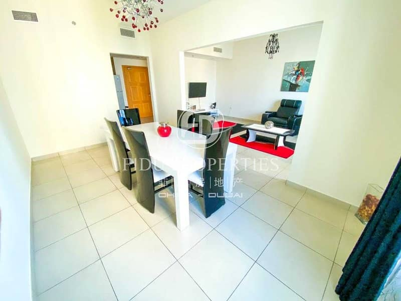 2 Furnished | High Floor | Park and Villa View