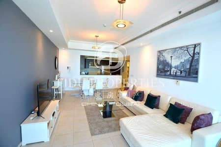 2 Bedroom Flat for Sale in Business Bay, Dubai - Fully Furnished   High Floor   Canal  and Sea View