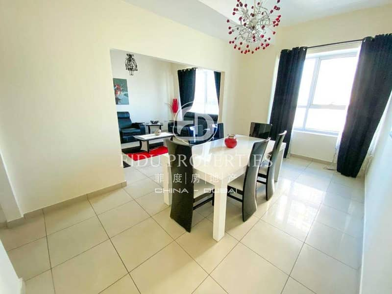 15 Furnished | High Floor | Park and Villa View