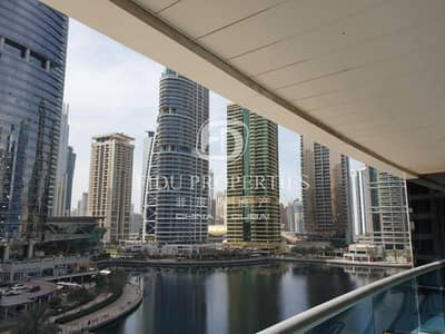شقة 1 غرفة نوم للبيع في أبراج بحيرات الجميرا، دبي - Investor Deal |Full Lake View | Preferred Layout