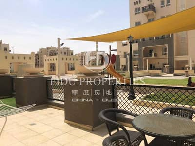 1 Bedroom Apartment for Sale in Remraam, Dubai - Decent Sized | Vacant | With Huge Terrace