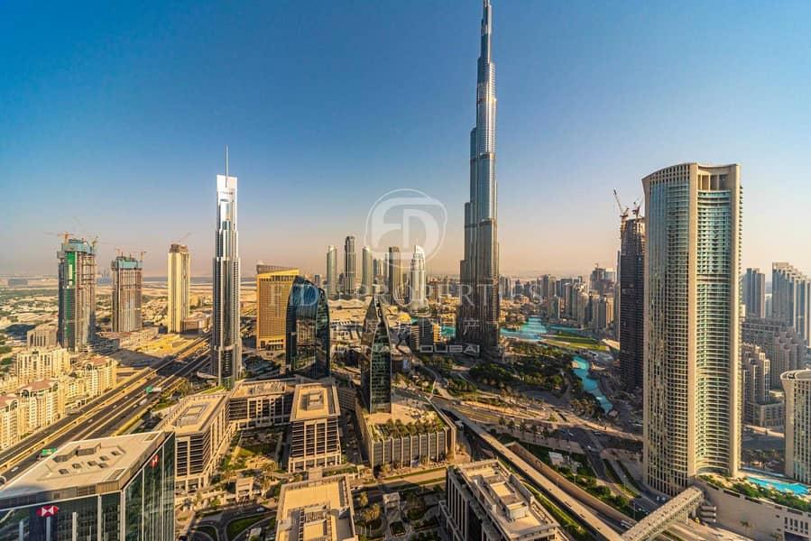 Full Furnished | High Floor | Burj Khalifa View