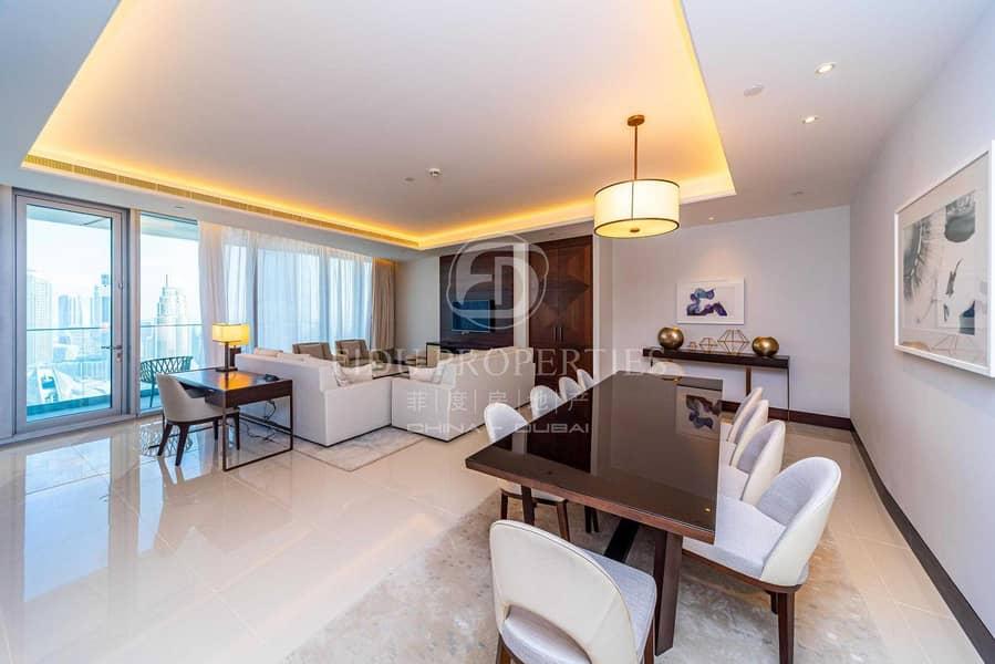 2 Full Furnished | High Floor | Burj Khalifa View