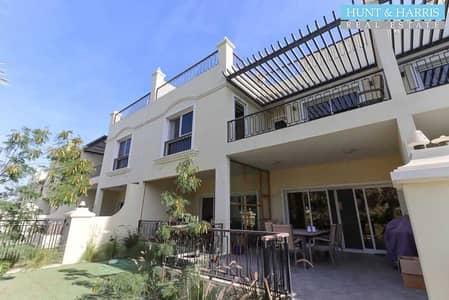4 Bedroom Townhouse for Sale in Al Hamra Village, Ras Al Khaimah - Immaculate 4 Bedroom - Garden View