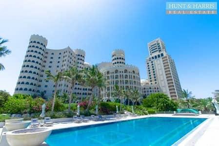 1 Bedroom Apartment for Rent in Al Hamra Village, Ras Al Khaimah - Beautiful Furnished Apartment - Wonderful Sea View