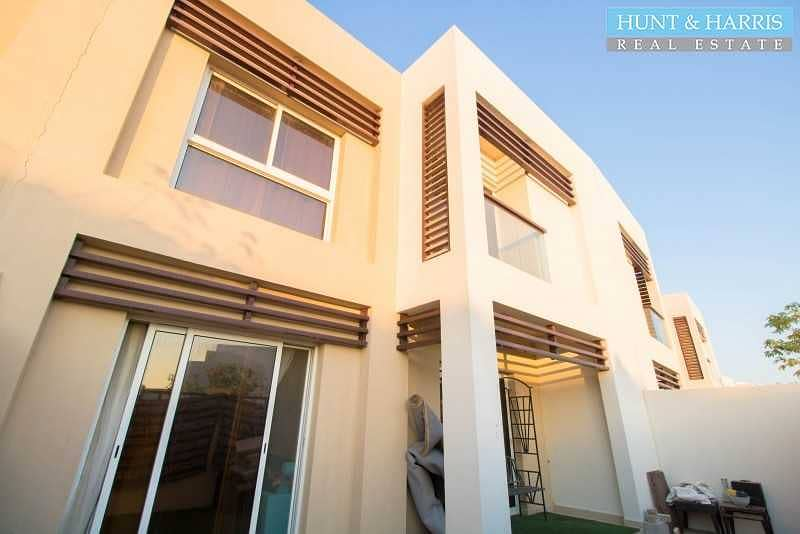 Modern Finish - Two Bedroom Townhouse with Maid's Room
