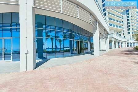 محل تجاري  للايجار في جزيرة المرجان، رأس الخيمة - Retail Shop - Full Sea View