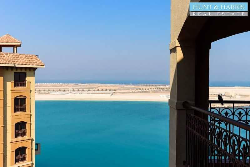 2 Penthouse - Stunning Sea Views - Al Marjan Resort and Spa