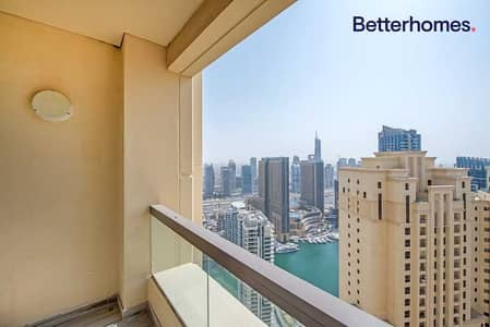 شقة 2 غرفة نوم للبيع في جميرا بيتش ريزيدنس، دبي - Renovated & Upgraded | High Floor | Unfurnished