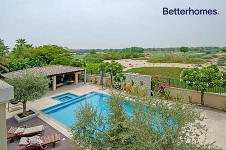 6 Bedroom Villa for Sale in Arabian Ranches, Dubai - Golf View | Rented | Private Pool | Large Plot