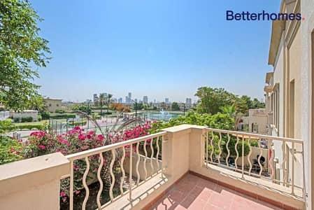 فیلا 2 غرفة نوم للبيع في الينابيع، دبي - Partial Lake view| Corner Plot| Backing Park| VOT