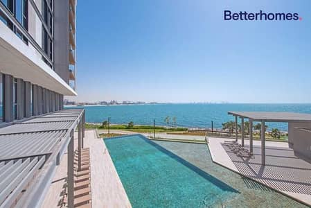 2 Bedroom Apartment for Sale in Bluewaters Island, Dubai - Sea View | Large Layout | Vacant |  Maids Room