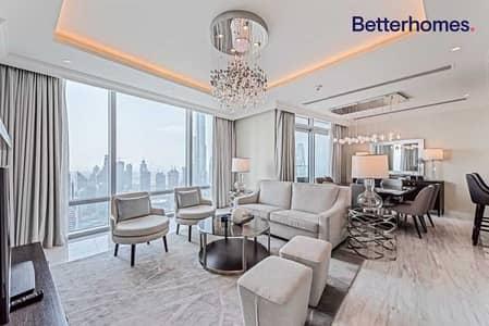 4 Bedroom Penthouse for Sale in Downtown Dubai, Dubai - 4+Maid's Duplex Penthouse|Sky Collection
